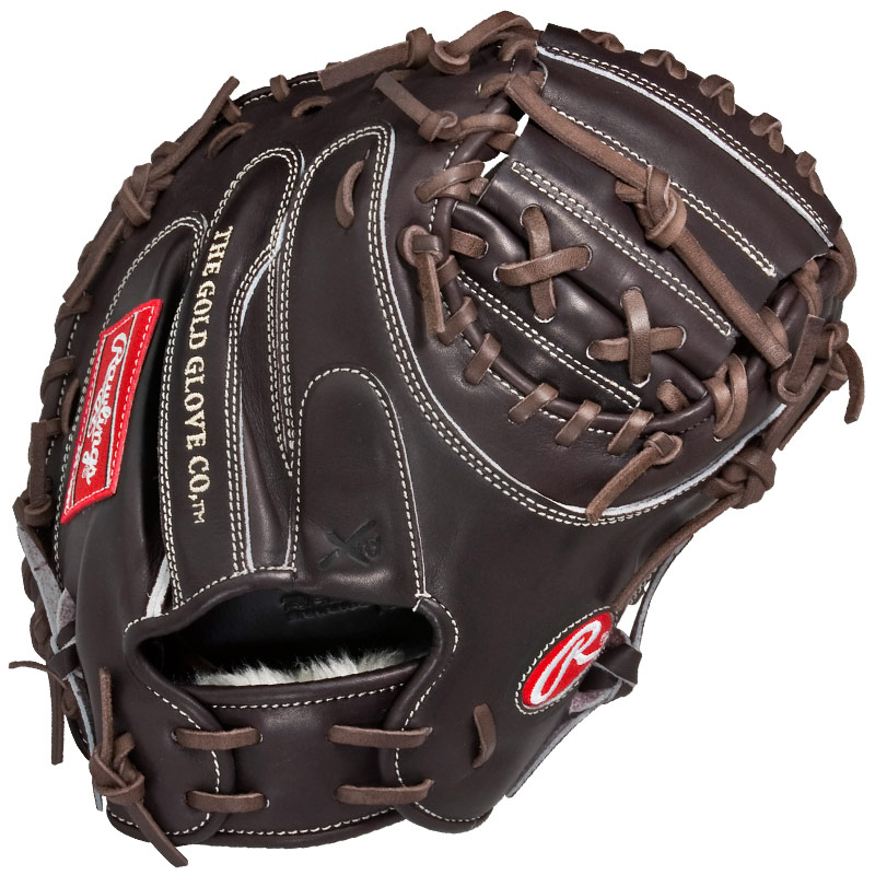"Rawlings Mocha Pro Preferred Series Catchers Mitt 34"" PROSCM41MO"