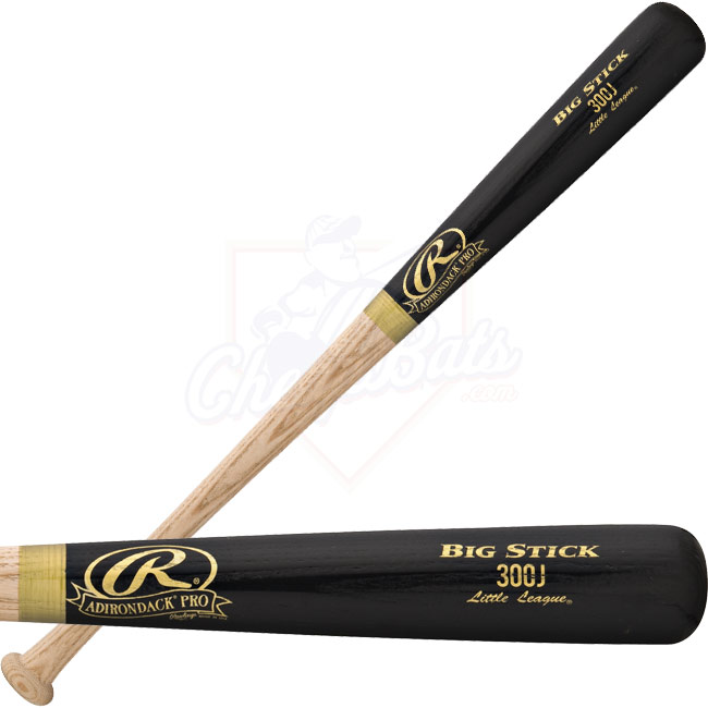 Rawlings Adirondack Pro Wood Baseball Bat Youth 300JAP