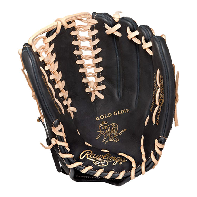 "CLOSEOUT Rawlings Heart of the Hide Dual Core Baseball Glove 12.75"" PRO601DCC"