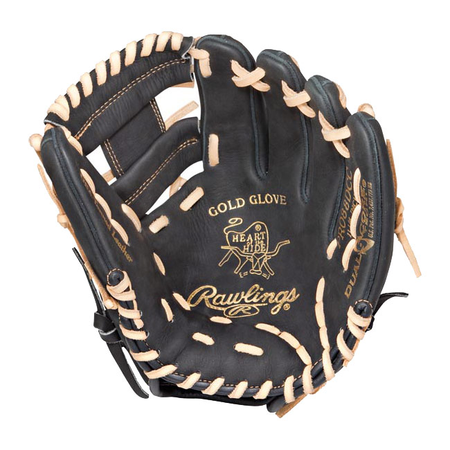 "CLOSEOUT Rawlings Heart of the Hide Dual Core Baseball Glove 11.25"" PRO88DCC"