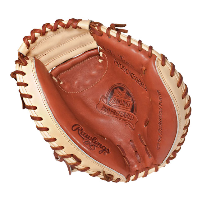 "Rawlings Pro Preferred Kip Catcher's Mitt 32.5"" PROSCM20BRX"