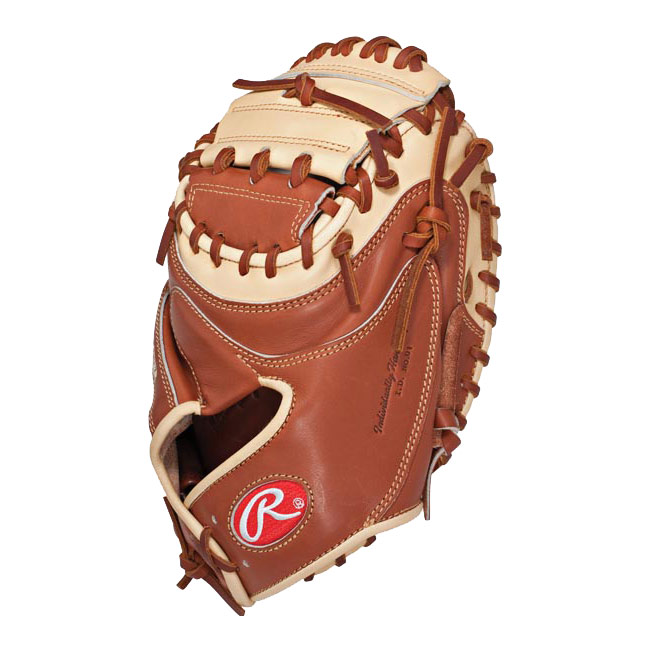 "Rawlings Pro Preferred Kip Catcher\'s Mitt 32.5"" PROSCM20BRX"