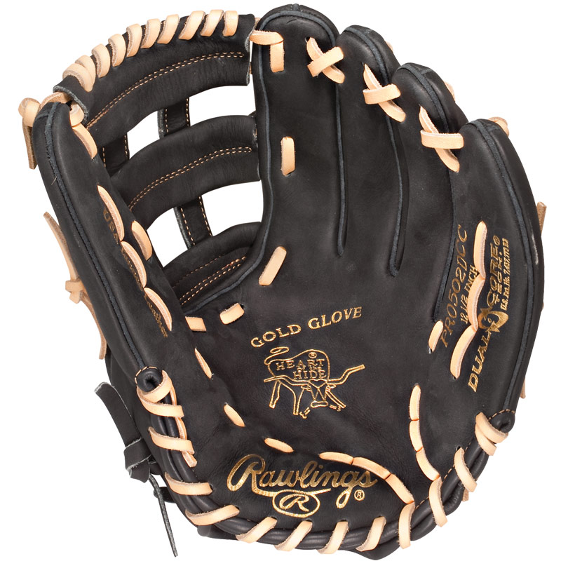 "CLOSEOUT Rawlings Heart of the Hide Dual Core Baseball Glove 12.5"" PRO502DCC"
