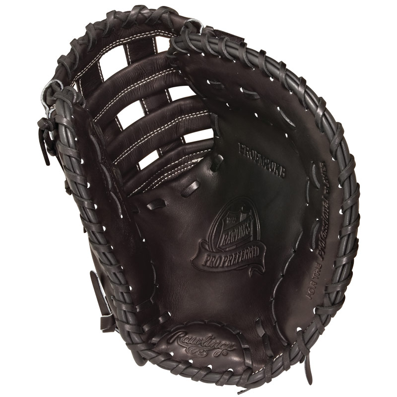 "CLOSEOUT Rawlings Pro Preferred Adrian Gonzales First Base Mitt 12.25"" PROFM20KB-GON"