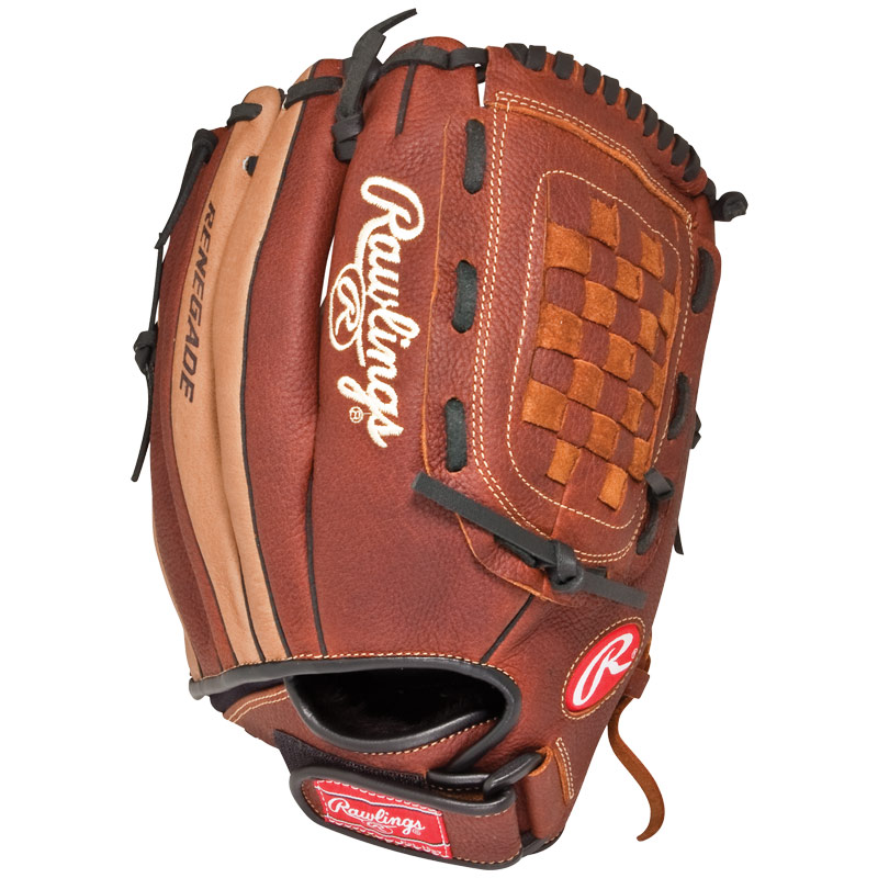 "Rawlings Renegade Series Baseball Glove 12.5"" R125R"