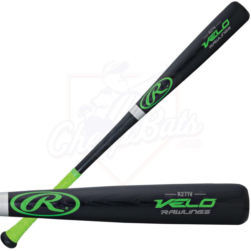 Rawlings Velo Ash Wood Baseball Bat -3oz R271V