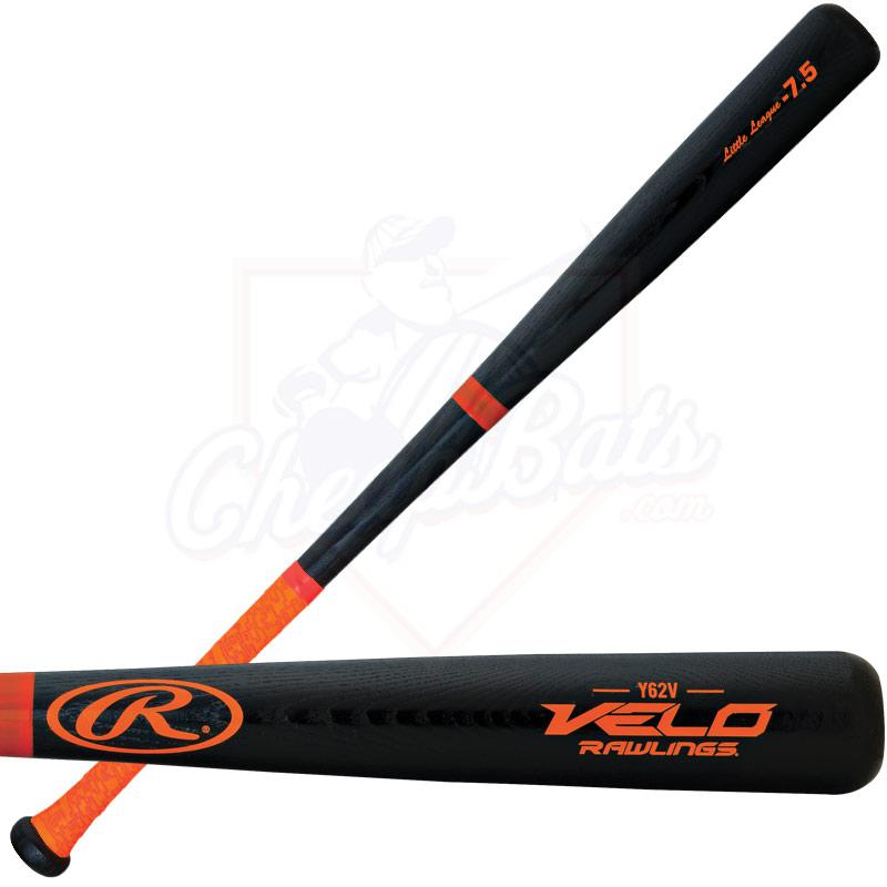 Rawlings Velo Ash Youth Wood Baseball Bat -7.5oz Y62V