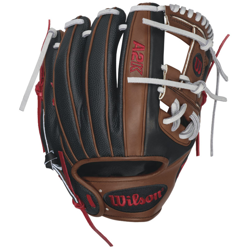 "Wilson A2K Dustin Pedroia Game Model SuperSkin Baseball Glove 11.5"" WTA2KRB16DP15GM"