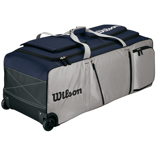 Wilson Pudge Bag On Wheels WTA9702