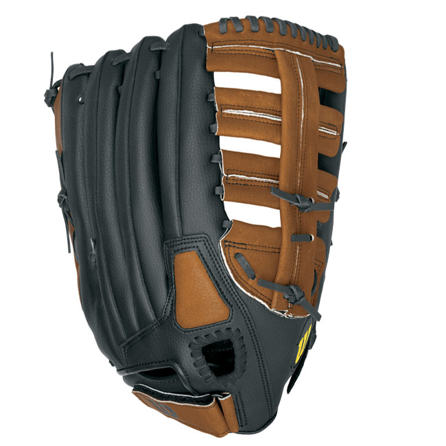 "Wilson A360 Big Man\'s Fielder\'s Softball Glove 15"" WTA0360BMFG"