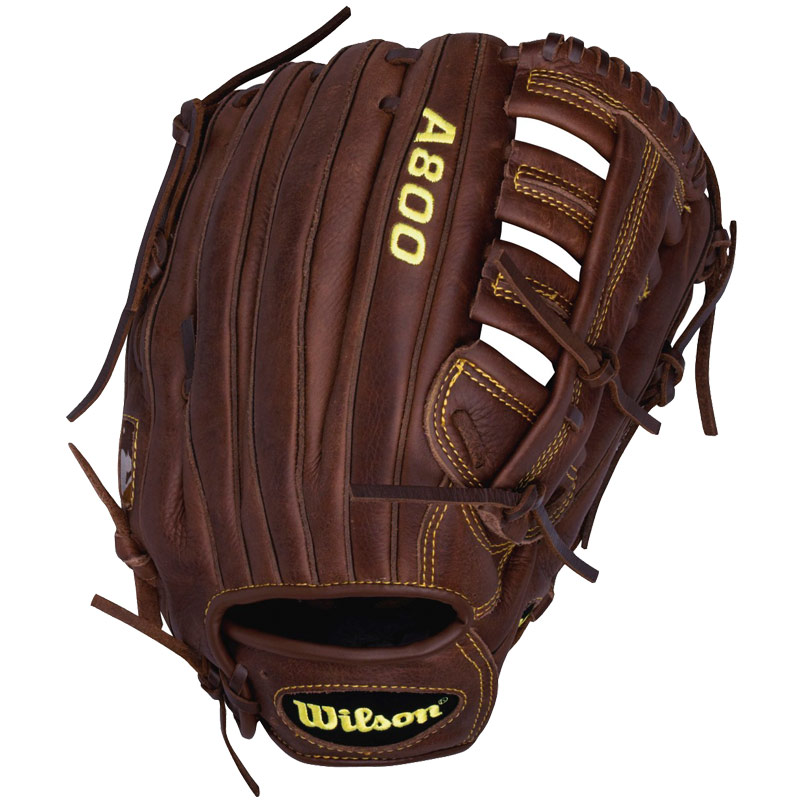 "Wilson A800 Game Ready SoftFit Fastpitch Softball Glove 12.5"" WTA0800BB125"