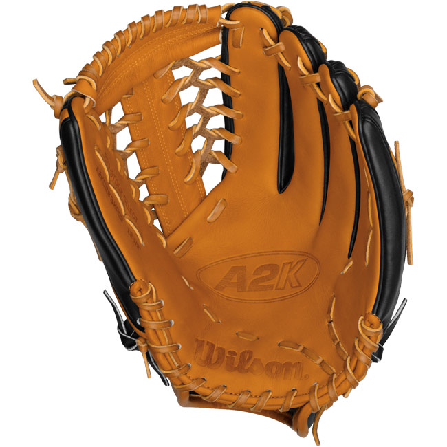 "CLOSEOUT Wilson A2K Baseball Glove 12.5"" Outfield WTA2K0BB3KP92"