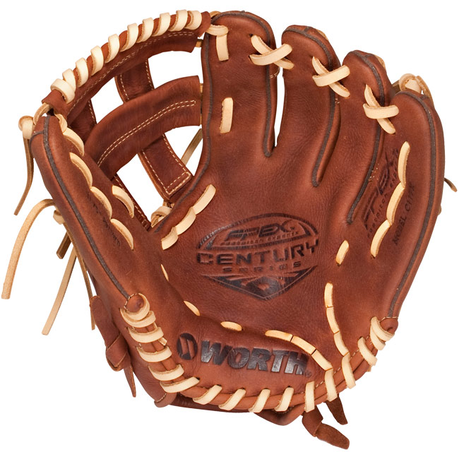 "CLOSEOUT Worth Century Series Fastpitch Softball Glove 11.75"" C117X"