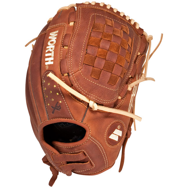"Worth Century Series Fasptich Softball Glove 12"" C120X"