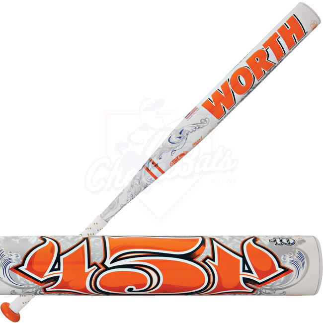 2013 Worth 454 Legit Fastpitch Softball Bat -10oz FPL410