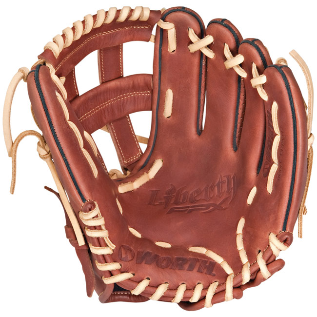 "CLOSEOUT Worth Liberty FPX Fastpitch Softball Glove 11.75"" LFPX117"