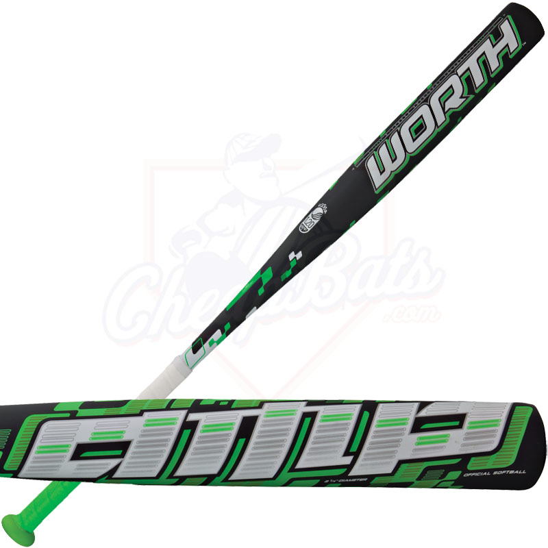 2014 Worth AMP Alloy ASA Slowpitch Softball Bat SBAMPA