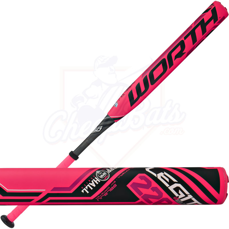 2016 Worth Legit 220 JEFF HALL Slowpitch Softball Bat USSSA End Loaded SBL2JU