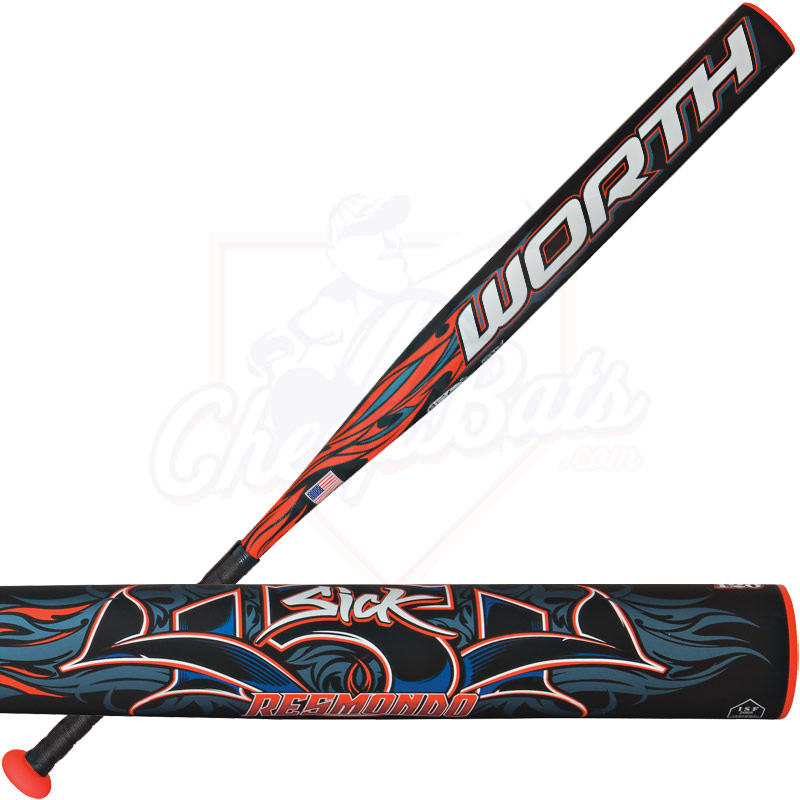 2014 Worth SICK 454 Resmondo USSSA Slowpitch Softball Bat SBSKRU