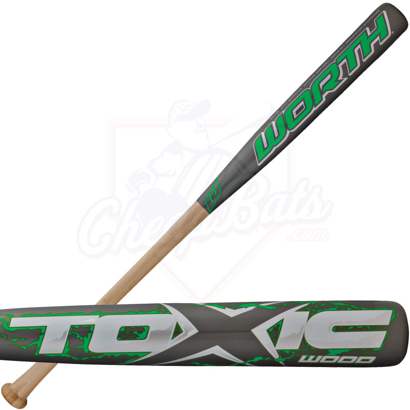 2014 Worth TOXIC Wood ASA Slowpitch Softball Bat SBTWB