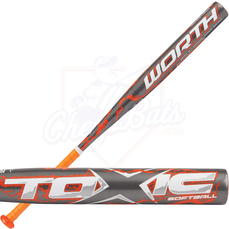 2014 Worth TOXIC Max Alloy ASA Slowpitch Softball Bat SBTXA