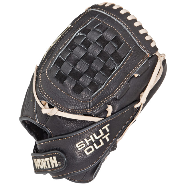 "Worth Shut Out FPX Fastpitch Softball Glove 11.75"" SO117FPX"