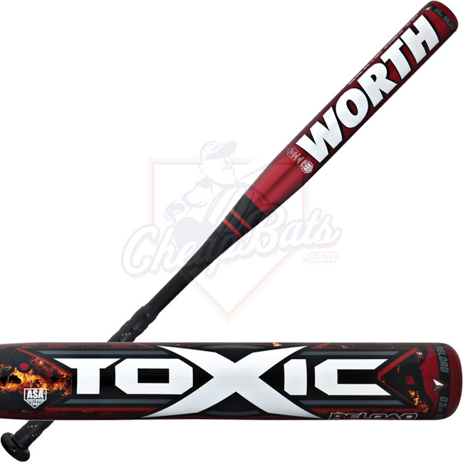 Worth Toxic Reload Slowpitch Softball Bat SBRLDA