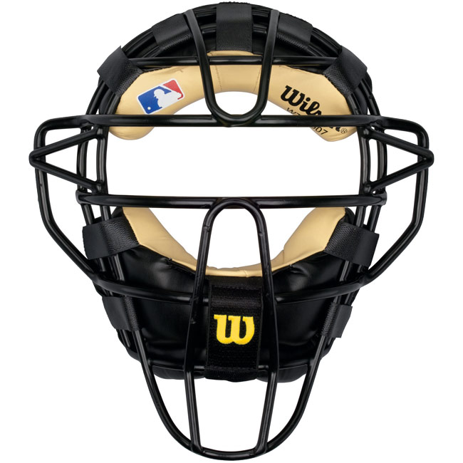 Wilson Dyna-Lite Catchers Face Mask Leather Pad WTA3007