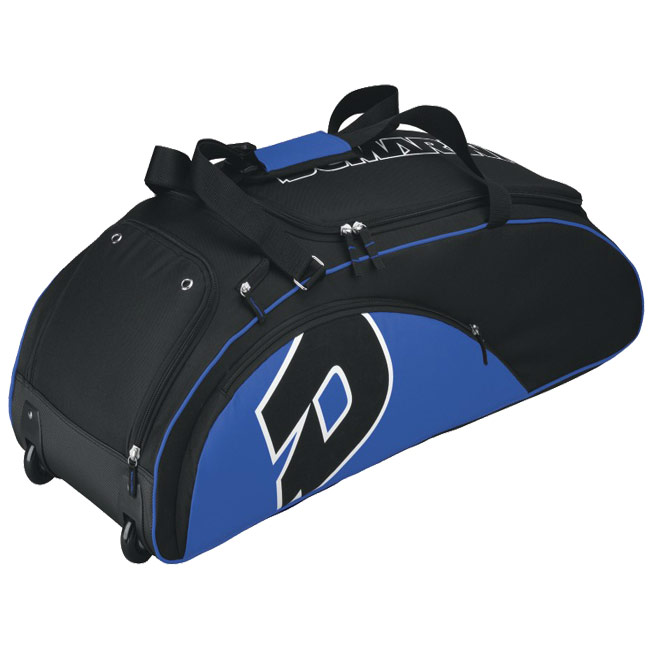 2012 DeMarini Vendetta Bag On Wheels (Royal/Black) WTA9405
