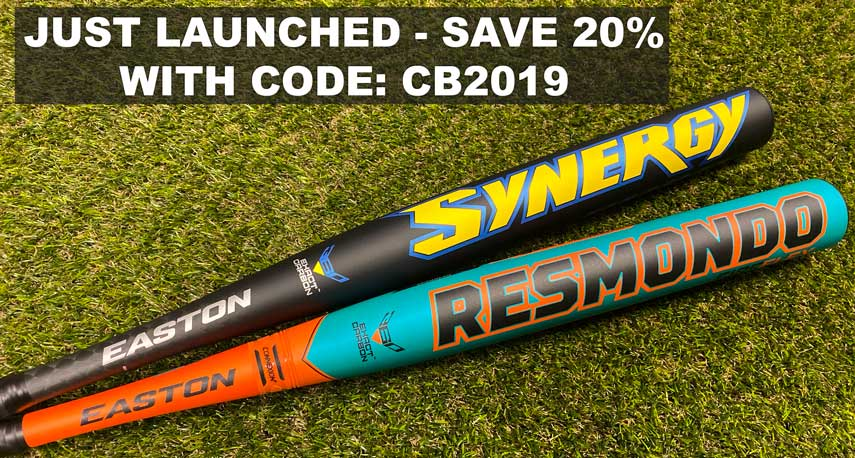 2020 Easton Synergy and Resmondo Slowpitch Softball Bats