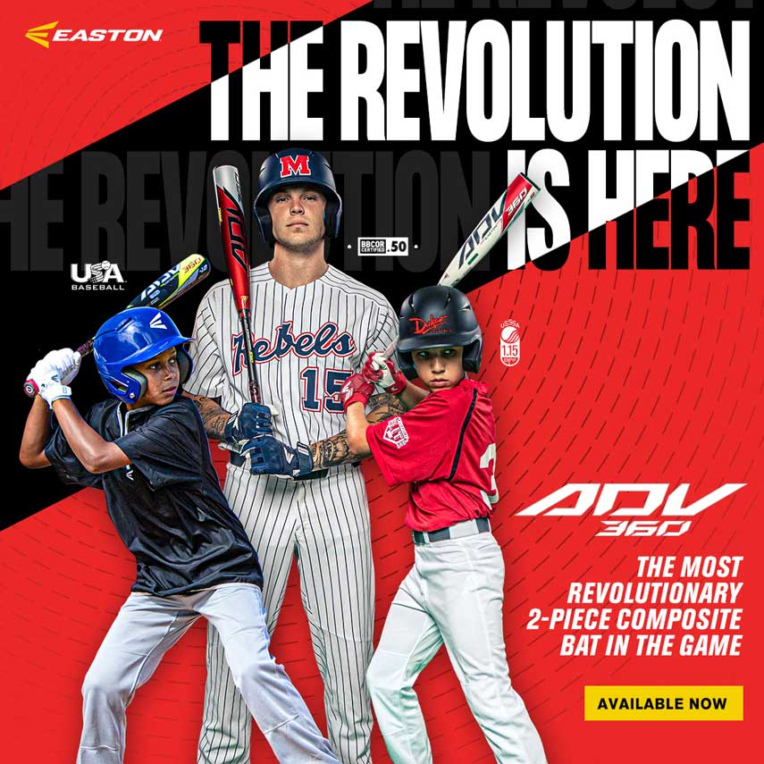 2020 Easton USSSA Travel Baseball Bats Now Available
