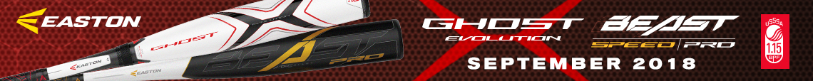 "2019 Easton USSSA Travel Ball Bats ""September 2018"""