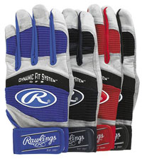 Rawlings WorkHorse Adult Batting Glove BGP950T (Pair)