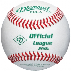 Diamond DOL-A Official League NFHS Baseball (1 Dozen)