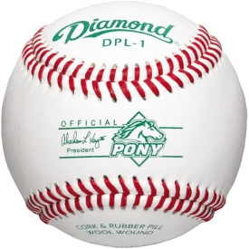 Diamond DPL-1 Pony League Baseball Dozen