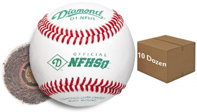 Diamond D1-NFHS Offical NFHS Baseball 10 Dozen