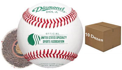 Diamond DOL-A Offical USSSA Baseball (1 Dozen)