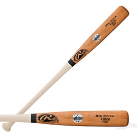 CLOSEOUT Rawlings Wood Baseball Bat Pro Preferred Maple P302M
