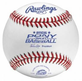 Rawlings Baseballs Pony League RPLB1 (1 Dozen)