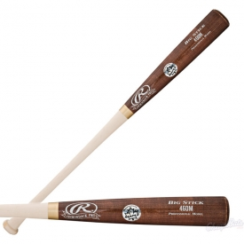 CLOSEOUT Rawlings Wood Baseball Bat Adirondack Pro Maple 460MAP