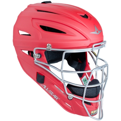 All Star MVP2500M System Seven Catcher Helmet with Matte Finish - Adult