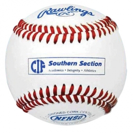 Rawlings Baseballs CIFSS Southern Section