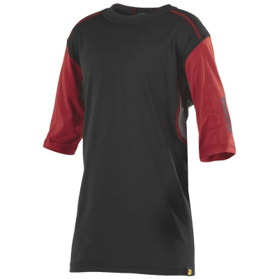 DeMarini Comotion Game T-Shirt Mid Sleeve Youth Black/Red