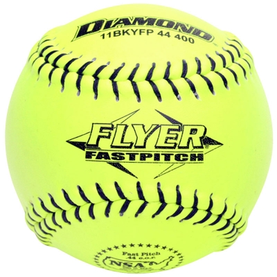 "Diamond Flyer Fastpitch Softball 11"" 11BKYFP 44 400 (6 Dozen)"