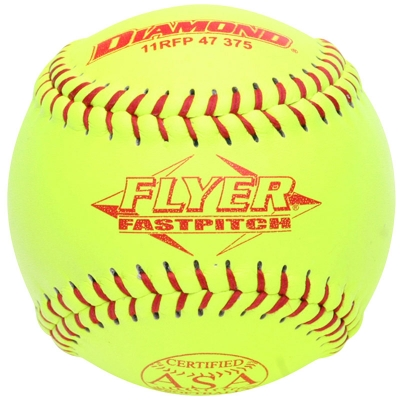 "Diamond Flyer Fastpitch Softball 11"" 11RFP 47 375 (6 Dozen)"