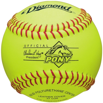 "Diamond 11RYSC PONY Youth Pony League Softball 11"" (6 Dozen)"