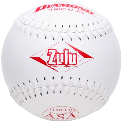 "Diamond Zulu Slowpitch Softball 11"" 11WSC 47 375 (6 Dozen)"