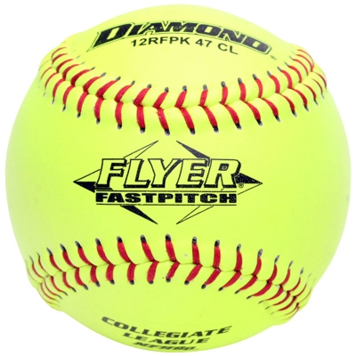 "Diamond Flyer Fastpitch Softball 12"" 12RFPK 47 CL (6 Dozen)"