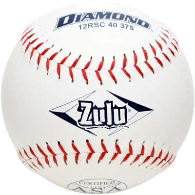"Diamond Zulu Slowpitch Softball 12"" 12RSC 40 375 (6 Dozen)"