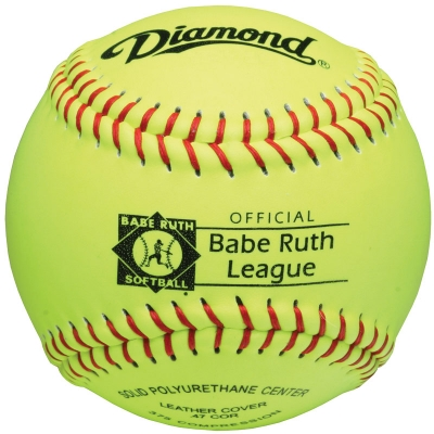 "Diamond 12RY BR Youth Babe Ruth League Softball 12"" (6 Dozen)"